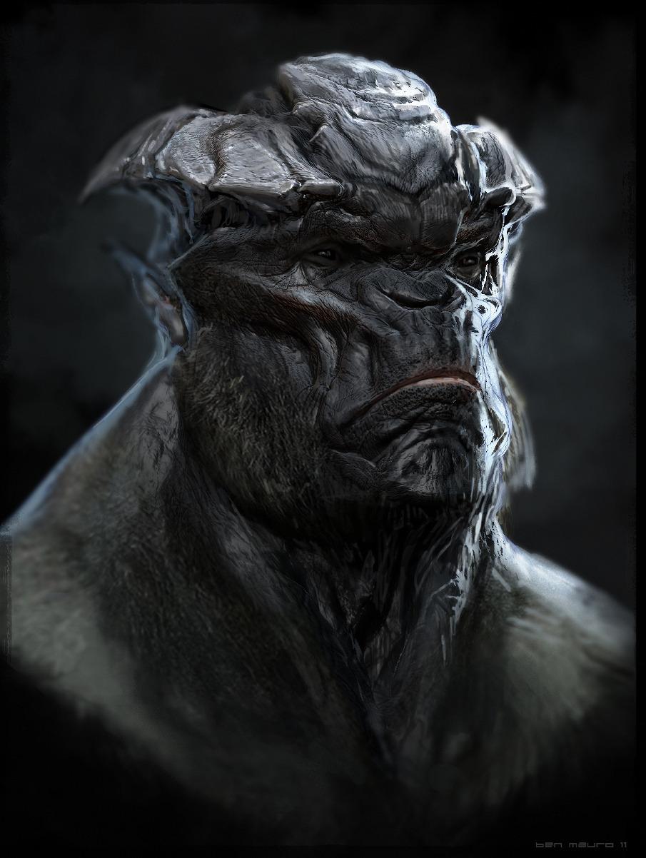 Concept artist co author alien race